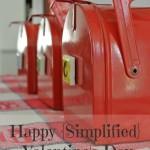 Happy {Simplified} Valentine's Day