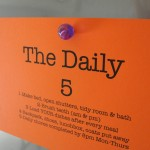Family Organization – The Daily 5