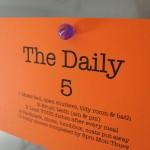 Family Organization – The Daily 5