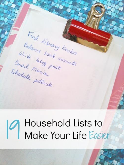 household-lists