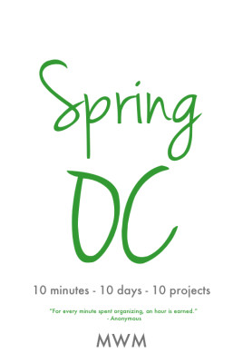 Spring Organizing Challenge