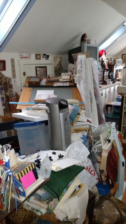 Disorganized Craft Room