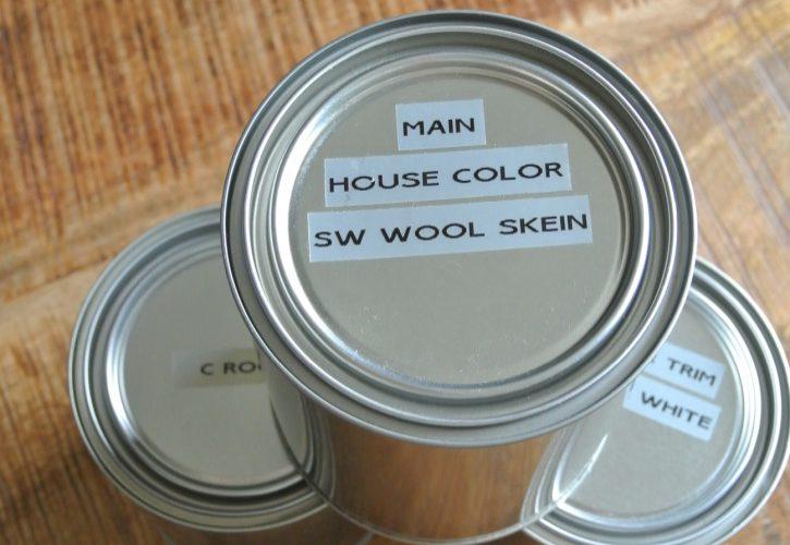 Organizing Paint