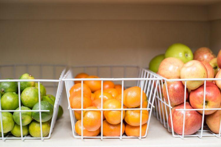 Organizing a pantry, simply.