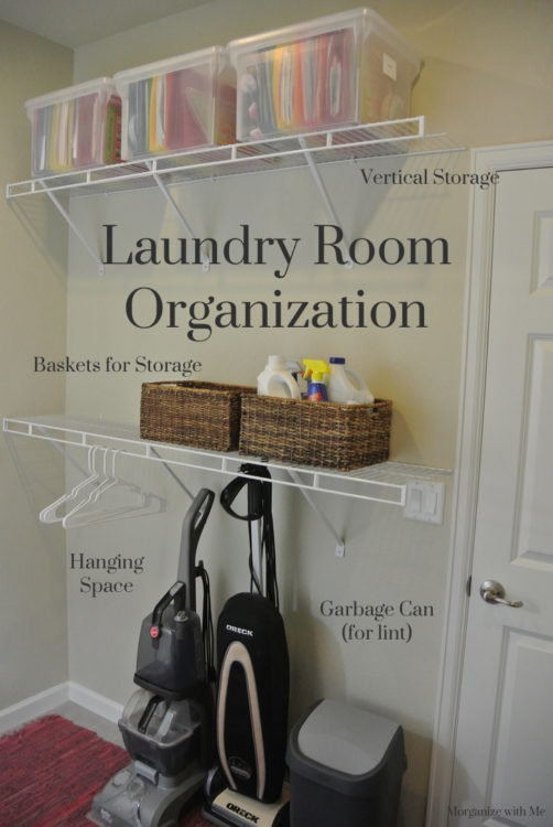 Laundry Room An Organized Updo