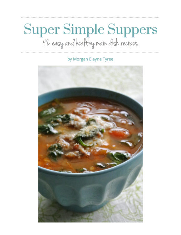 Super Simple Suppers